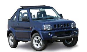 Car Hire Rhodes Suzuki Jimny Open top