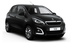 Car Hire Rhodes Peugeot 108