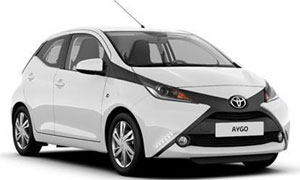 Car Hire Rhodes Toyota Aygo