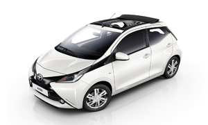 Car Hire Rhodes Toyota Aygo Open Air Auto