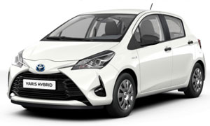 Car Hire Rhodes Toyota Yaris